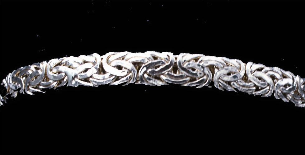 14K Byzentine Link Bangle Bracelet