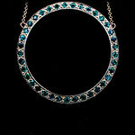 "14k Emerald ""O"" Necklace"