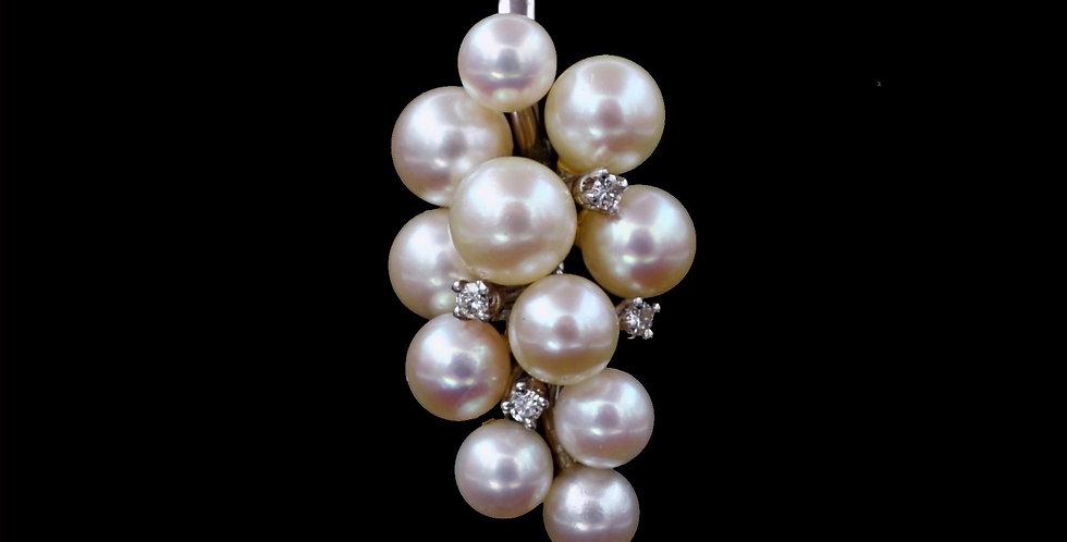 14K Salt Water Cultured Pearl Pendant Enhancer