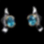 14K Zircon Earrings