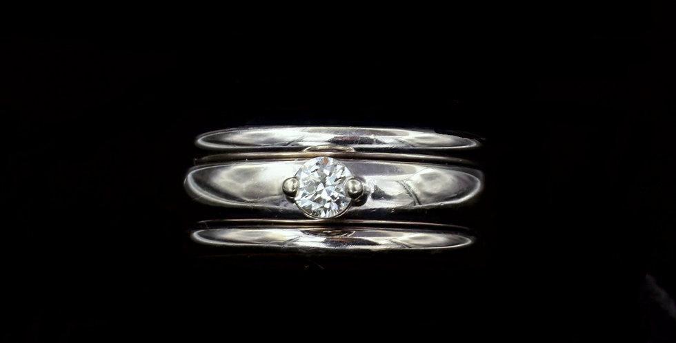 14K .28ct Diamond Ring