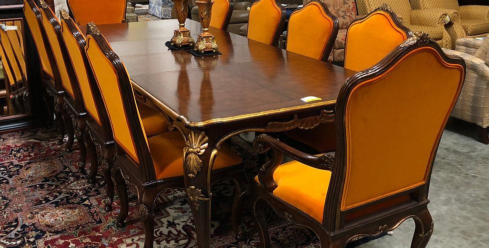 Henredon Table & 10 Chairs