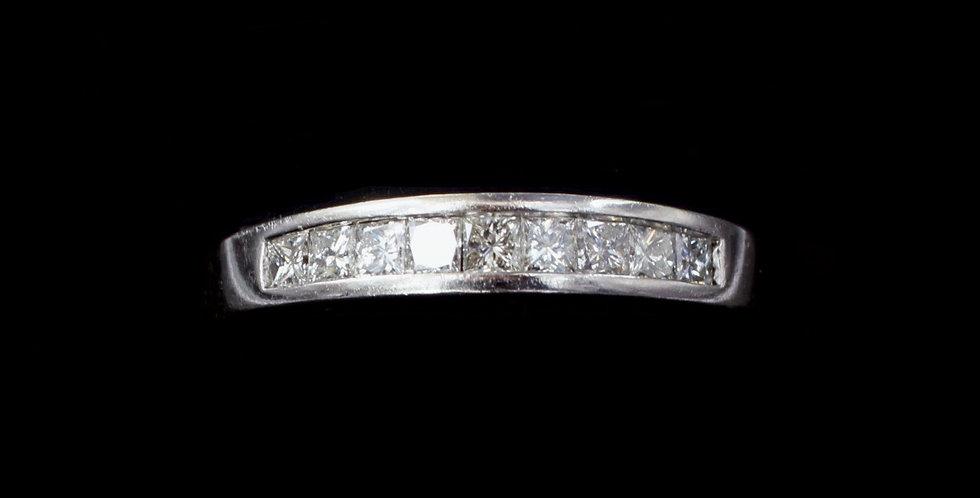 Platinum .50ct twt. Diamond Ring/Band