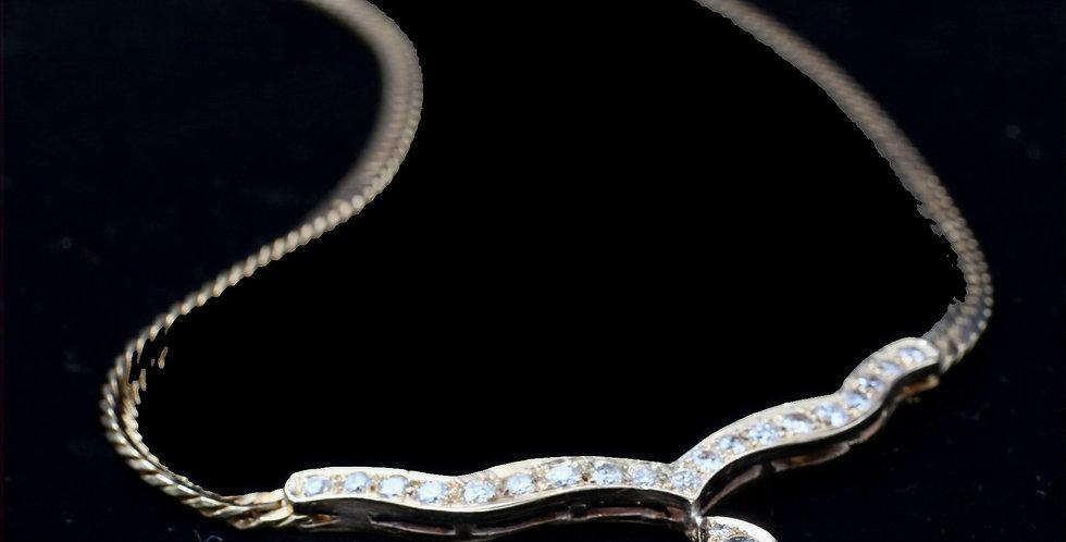 14K Diamond Necklace