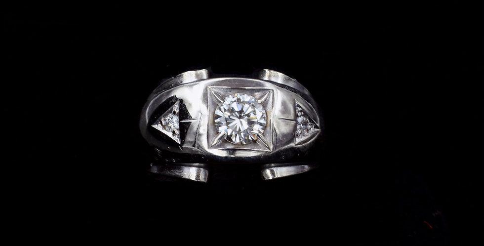 14K Vintage 1.00ct twt. Diamond Band