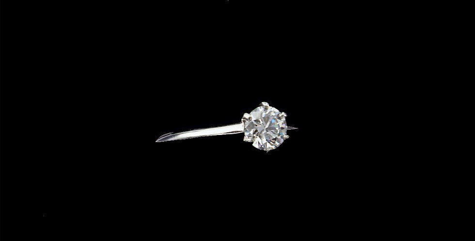 Tiffany .65 Carat Solitaire Diamond Ring