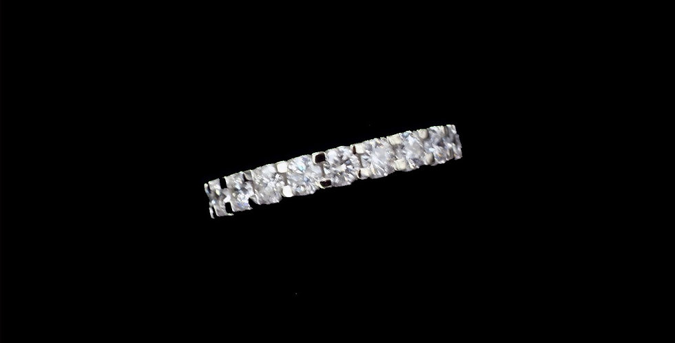 14K Yellow Gold 2.00 Carat Total Diamond Weight Eternity Band
