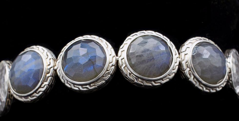 John Hardy Sterling Labradorite Bracelet