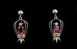 14K & Platinum Precious Topaz Earrings