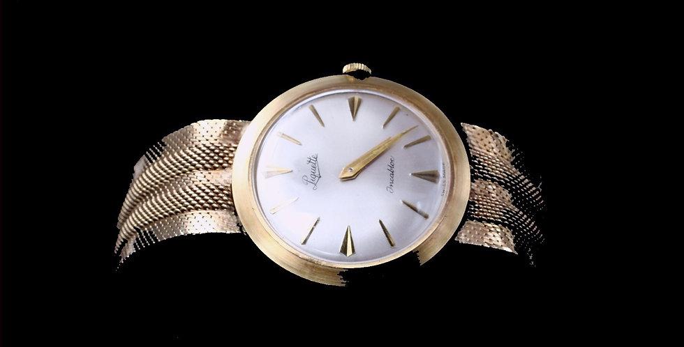 14K Vintage Piquette Watch Hand Wind