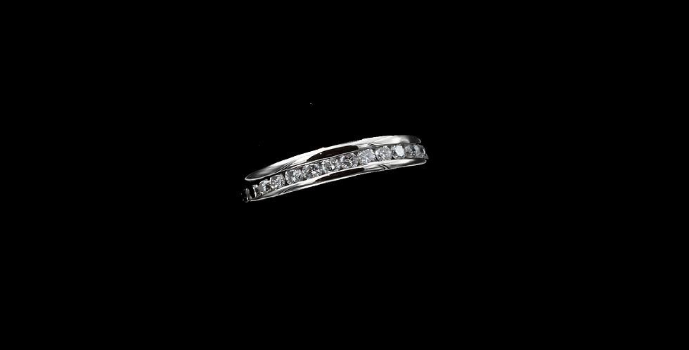 14K White Gold 1.00 Carat Diamond Ring/Band