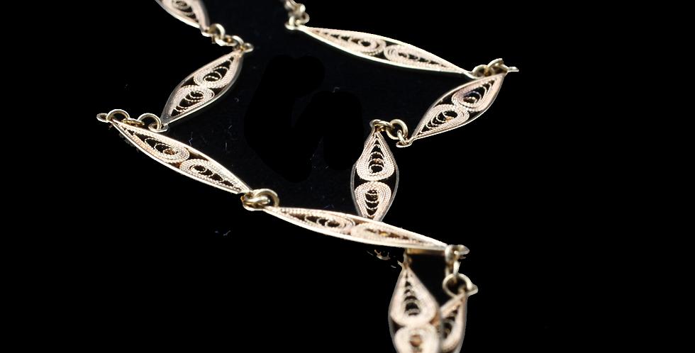18K Filigree Chain