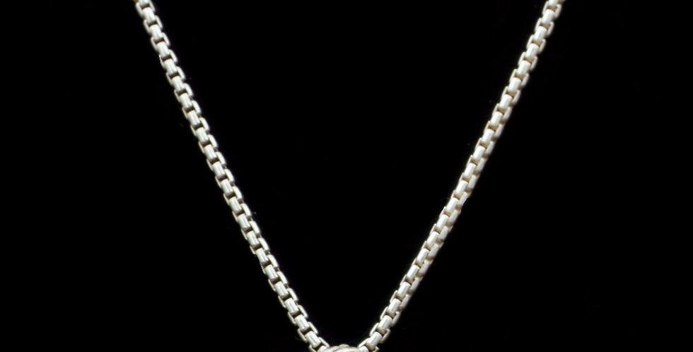 David Yurman Sterling Midnight Melange Necklace