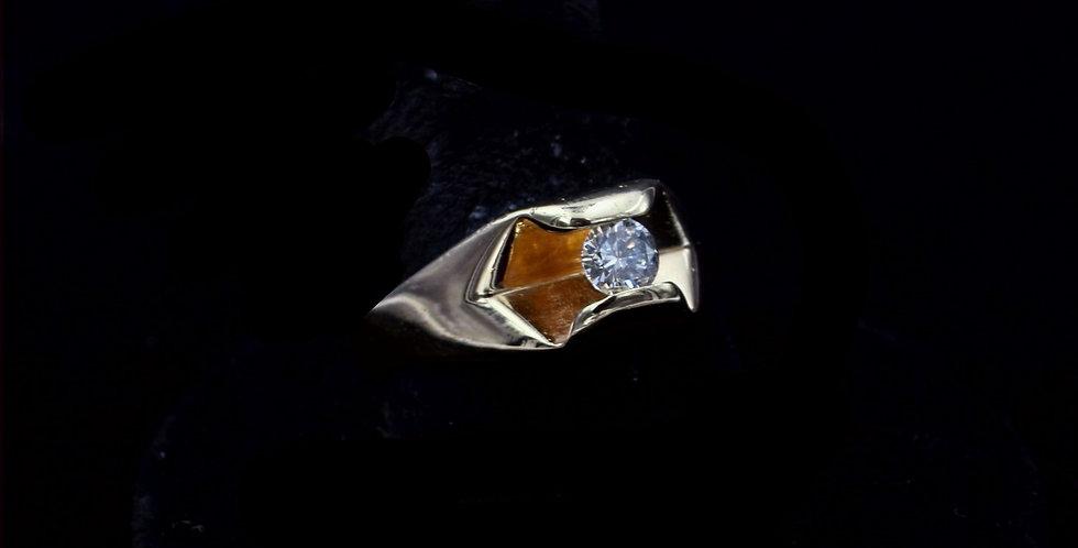 14K .36 Carat Diamond Ring