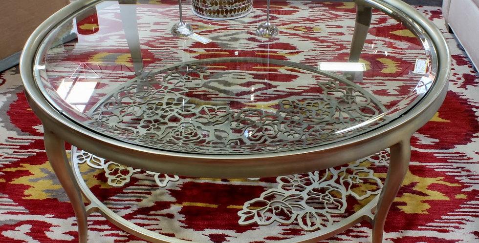 Caracole Glass Coffee Table