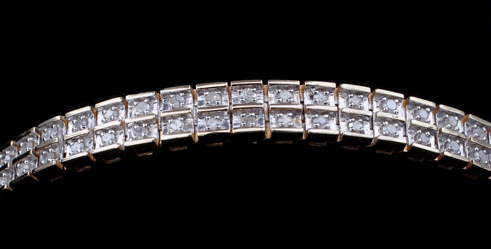 10K 1.00ct twt. Diamond Bracelet