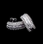 10K 1.00ct twt. Diamond Earrings