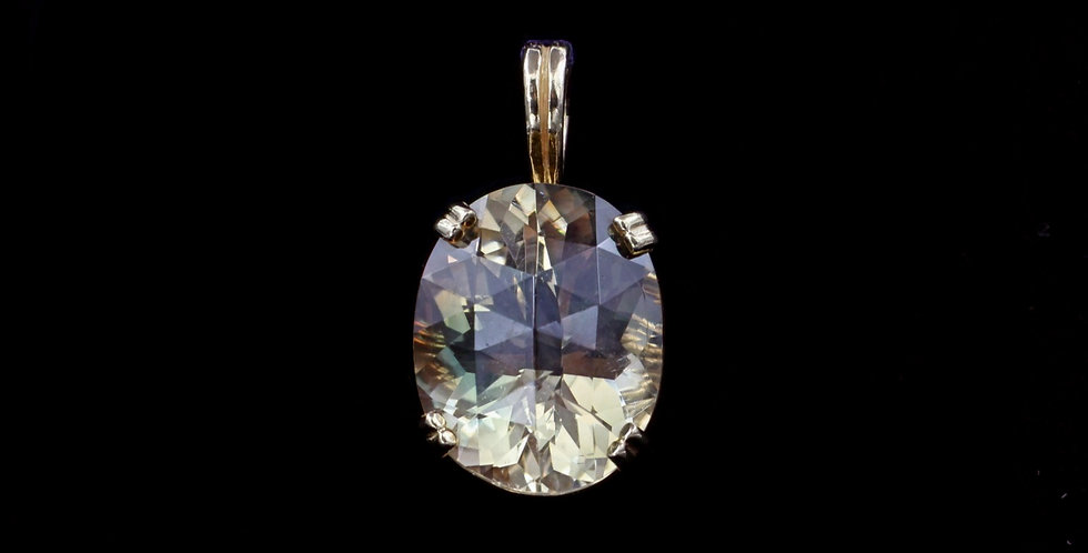 14K Oregon Sunstone Pendant