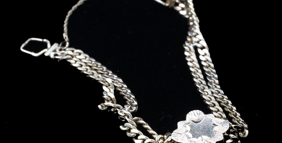 14K Slider Antique Bracelet