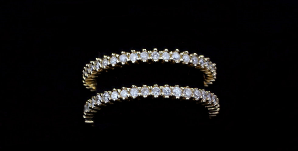 14K 1.00ct twt. Diamond Continuous Band
