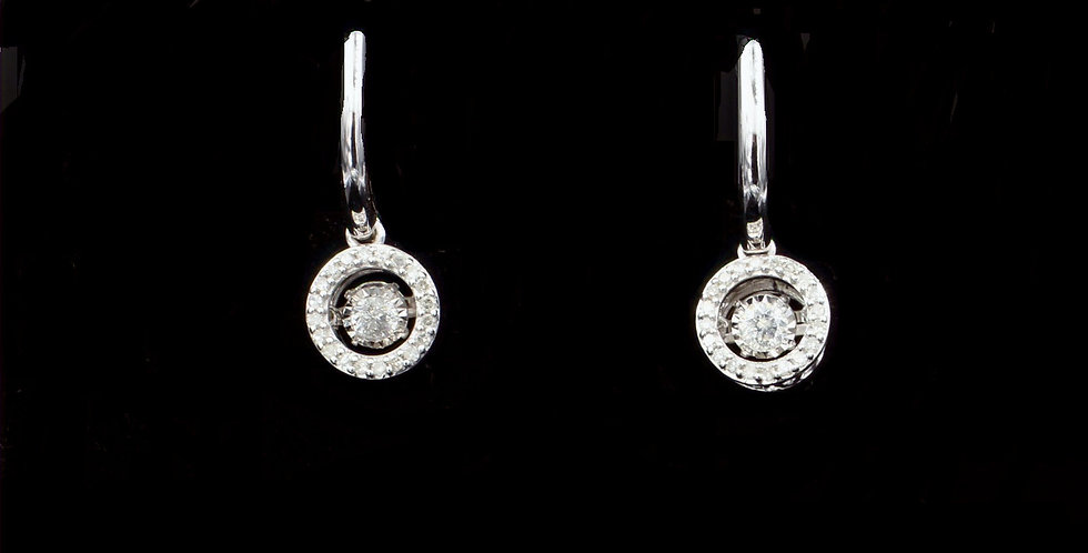 14K .50ct twt. Diamond Earrings
