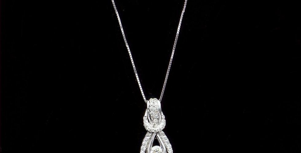 14K .50ct twt. Diamond Necklace