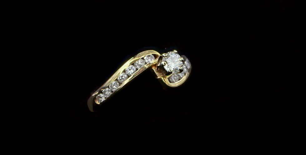14K .50ct twt. Diamond Ring