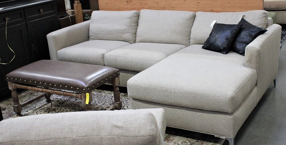 3pc Contemporary Sectional