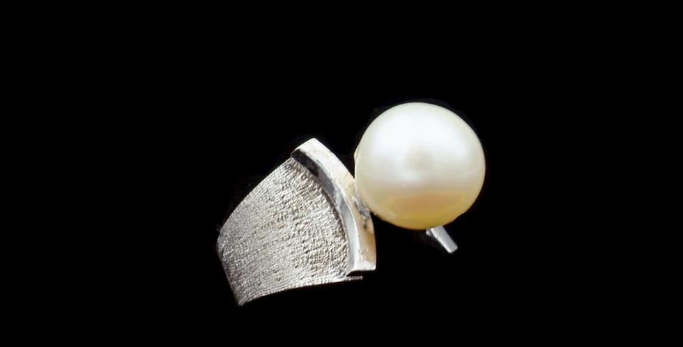 14K wg Vintage SWC Pearl Ring