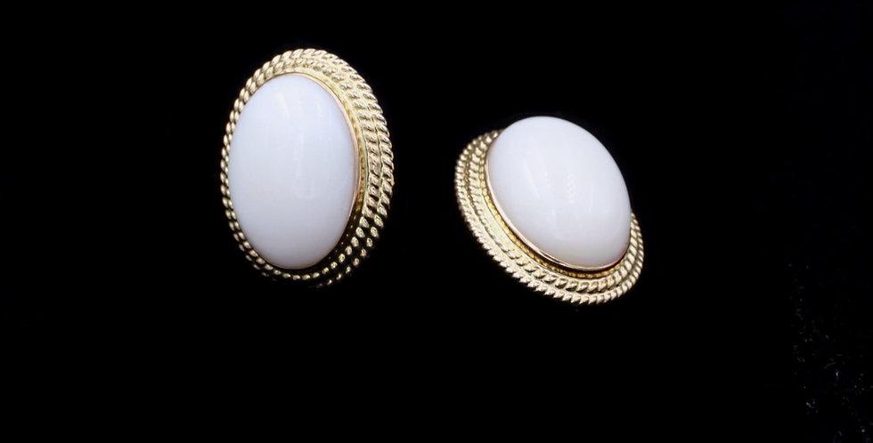 14K Coral Earrings