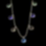 14K Multi Stone Necklace