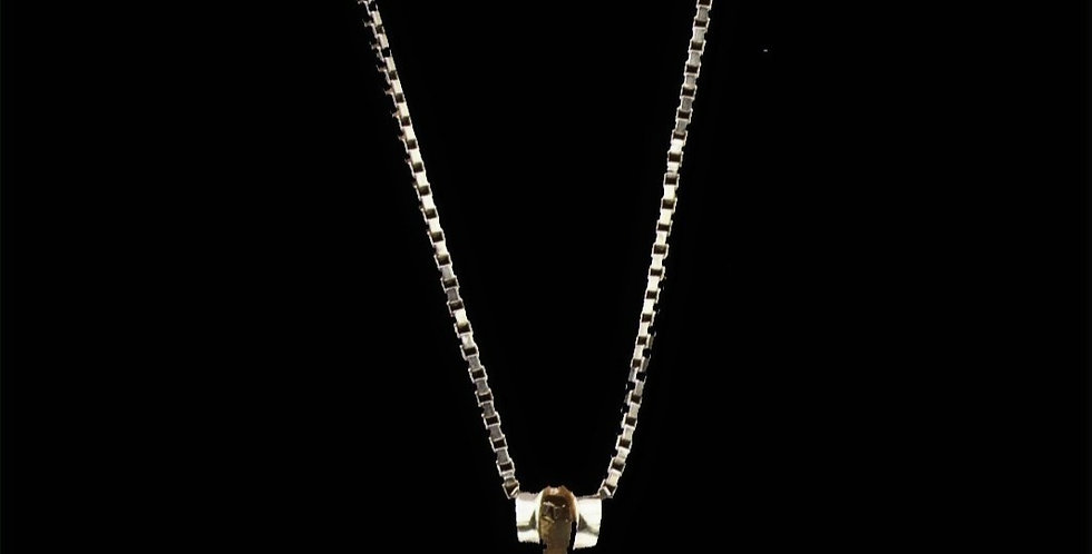 14 & 18K Emerald Necklace