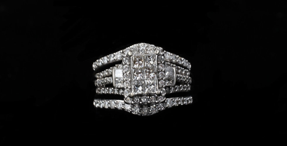 10K 1.50ct twt. Diamond Ring