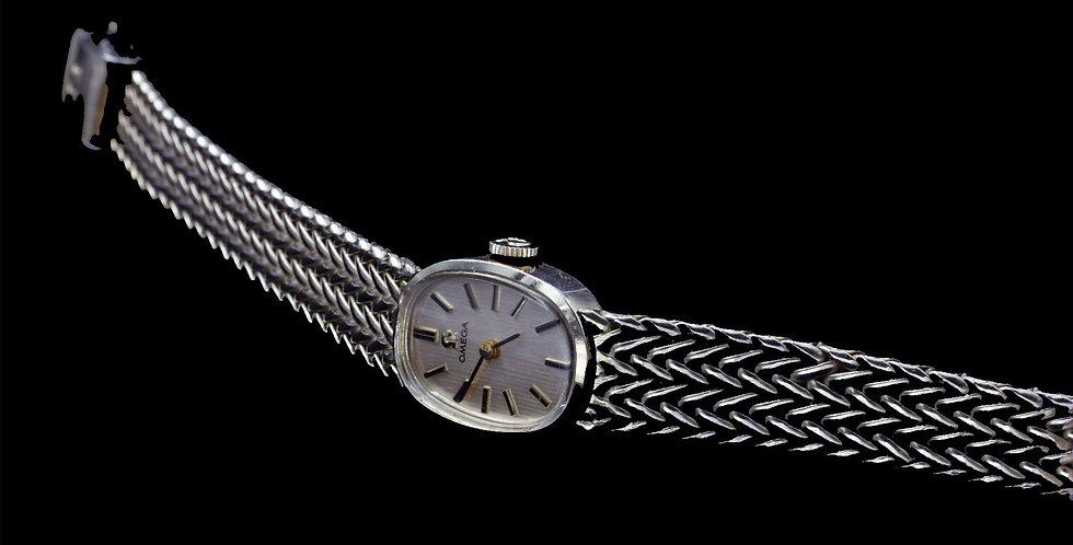 Gold Plate 17Jewel Omega Watch