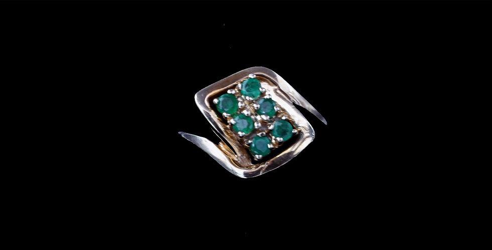 10K Vintage Emerald Ring