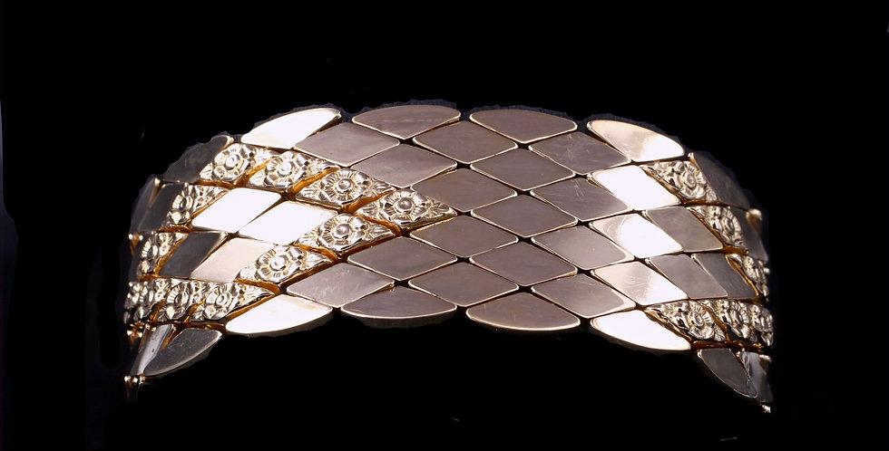 18K Italian Yellow Gold Bracelet