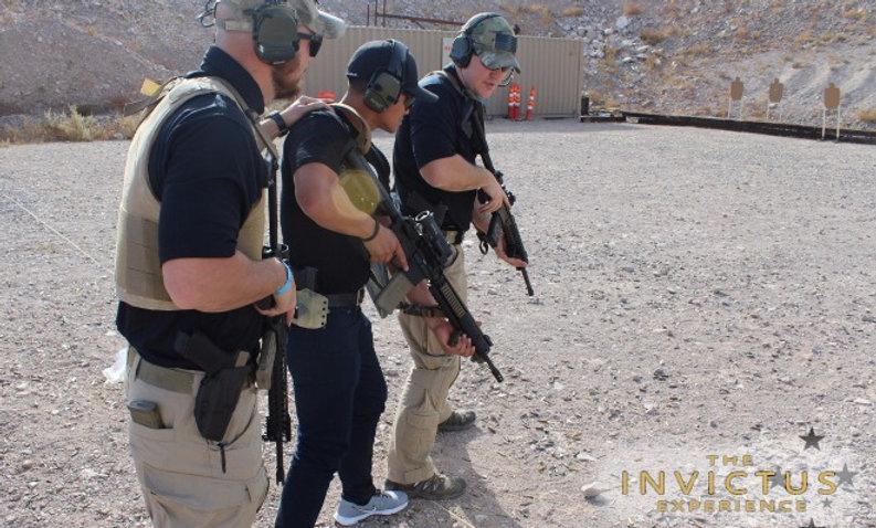 Shoot guns in Las Vegas