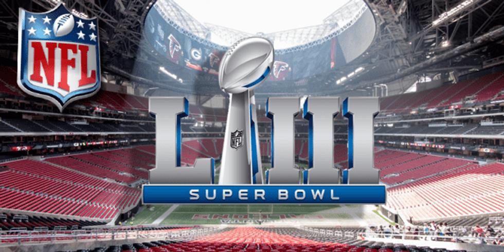 Super Bowl party at Chaps'