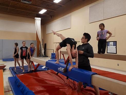 Gymnastique récréative Dolbeau-Mistassin