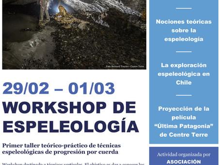 Workshop de espeleología - Santiago de Chile