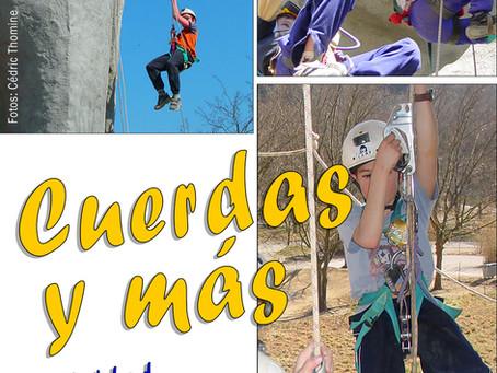 """""""Cuerdas y Más"""", primera actividad lúdico-educativa de Centre Terre y EspeleoPatagonia en Chile"""