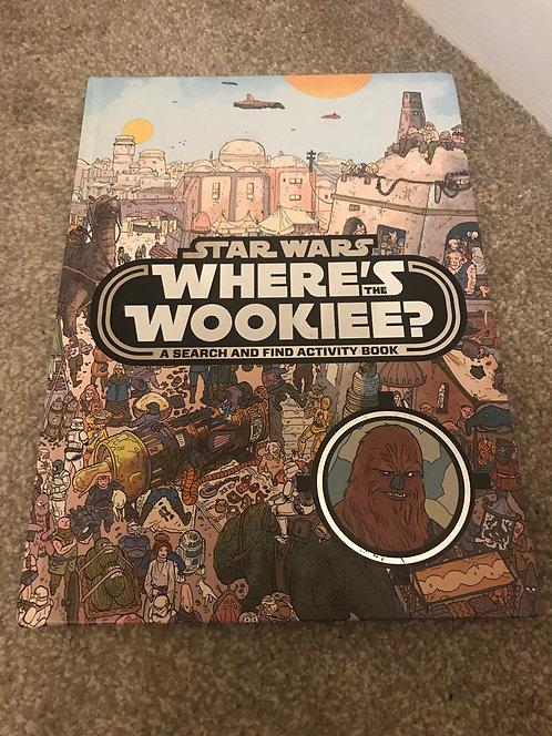 Star Wars - where's the Wookiee? (Similar to where's wally)