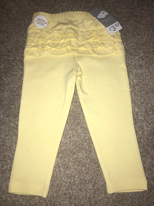 BNWT - ruffle bum leggings size 9/12 months (See 2nd pic for front of legging)