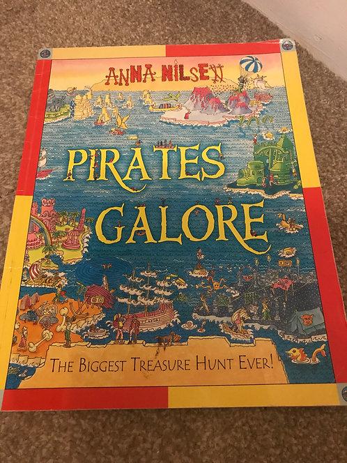 Pirates galore treasure hunt book (abit like where's wally)