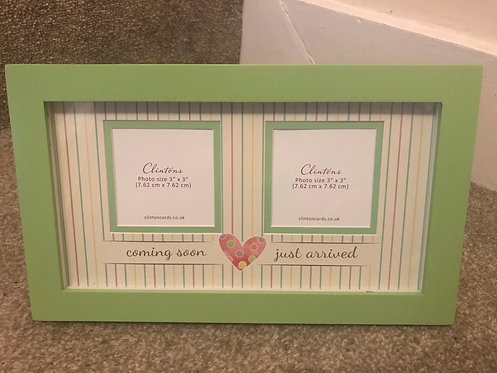 Coming soon - just arrived photo frame (NEVER BEEN USED)