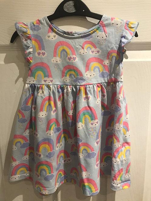 9/12 months rainbow dress