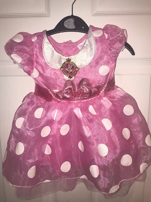 3-6 months Minnie Mouse dress (brought from Disney store)