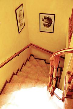 Stairs to second floor MiraBela