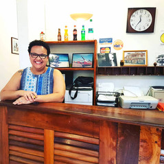Reception desk MiraBela with Simone