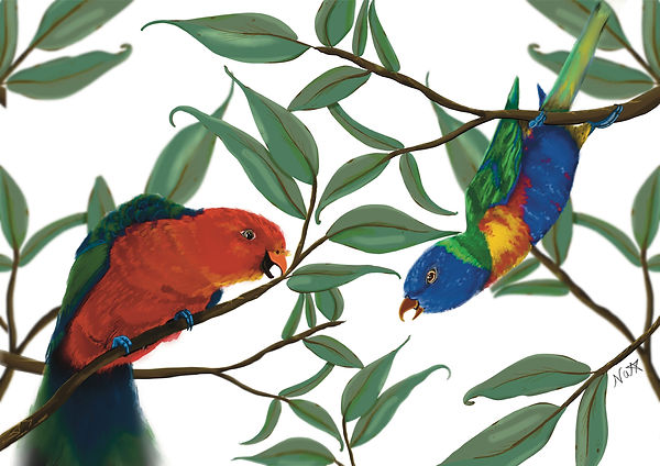 Parrot friends